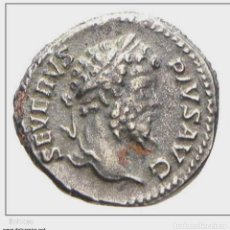Monedas Imperio Romano: 321--INTERESANTE Y BONITO DENARIO EN PLATA DE SEPTIMIO SEVERUS--193-211 D.C.-EXCELENTE. Lote 253994100