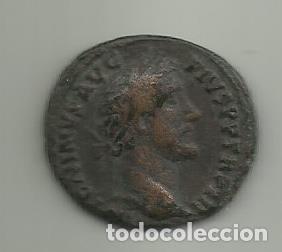 AS DE BRONCE DE ANTONINO PIO EMPERADOR DE 138 AL 161 D.C (Numismática - Periodo Antiguo - Roma Imperio)