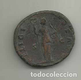 Monedas Imperio Romano: As de Bronce de Antonino Pio Emperador de 138 al 161 D.C - Foto 2 - 254079580