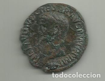 MUY BONITO AS DE CLAUDIO EMPERADOR DE 41 AL 54 D.C. (Numismática - Periodo Antiguo - Roma Imperio)