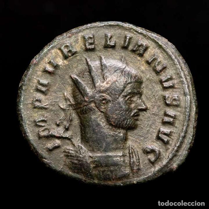 AURELIANO - AE ANTONINIANO. SISCIA. 272-274. - IOVI CONSER / ✩Q (Numismática - Periodo Antiguo - Roma Imperio)