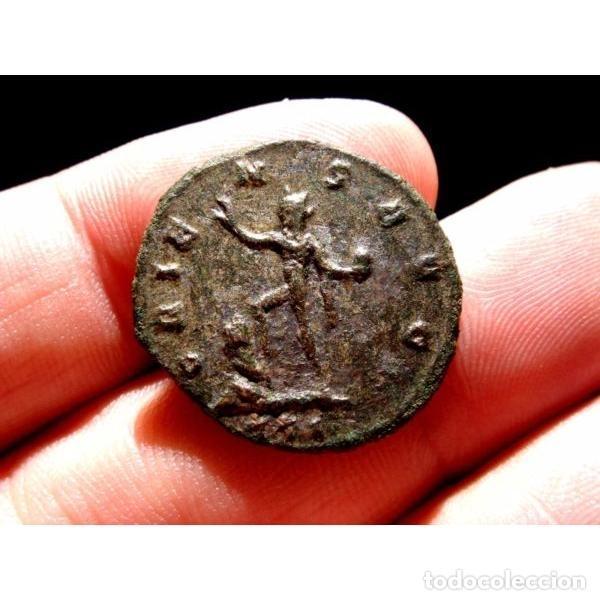 Monedas Imperio Romano: Aureliano - Antoniniano de Ticinum - ORIENS AVG // XXI (4503) - Foto 4 - 254169425