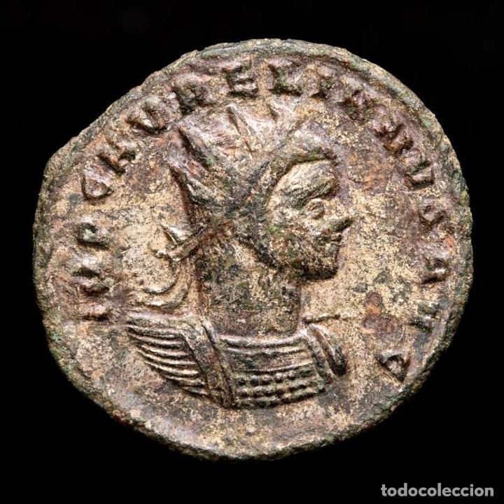 AURELIANO - ANTONINIANO DE TICINUM - ORIENS AVG // XXI (4503) (Numismática - Periodo Antiguo - Roma Imperio)