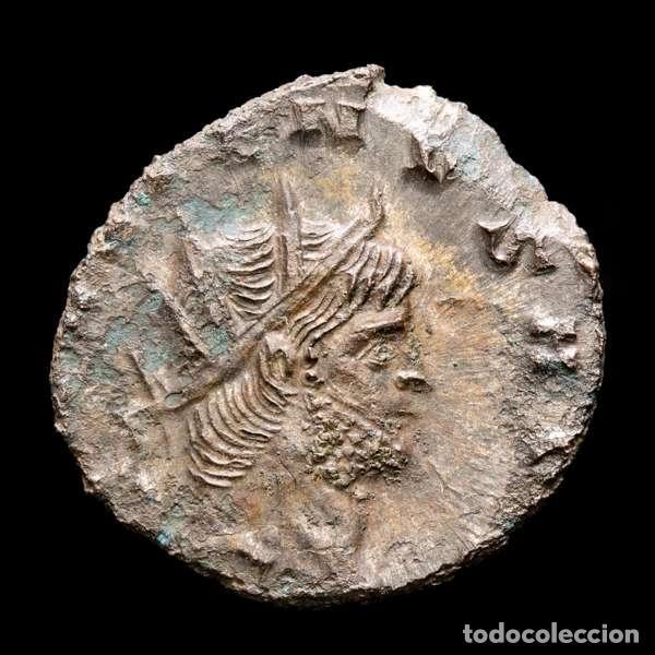 Monedas Imperio Romano: Lote de cuatro Galienos. AE Antoninianos. Varios reversos (143L) - Foto 3 - 254175450