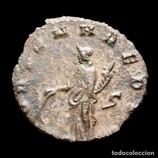 Monedas Imperio Romano: Lote de cuatro Galienos. AE Antoninianos. Varios reversos (143L) - Foto 4 - 254175450
