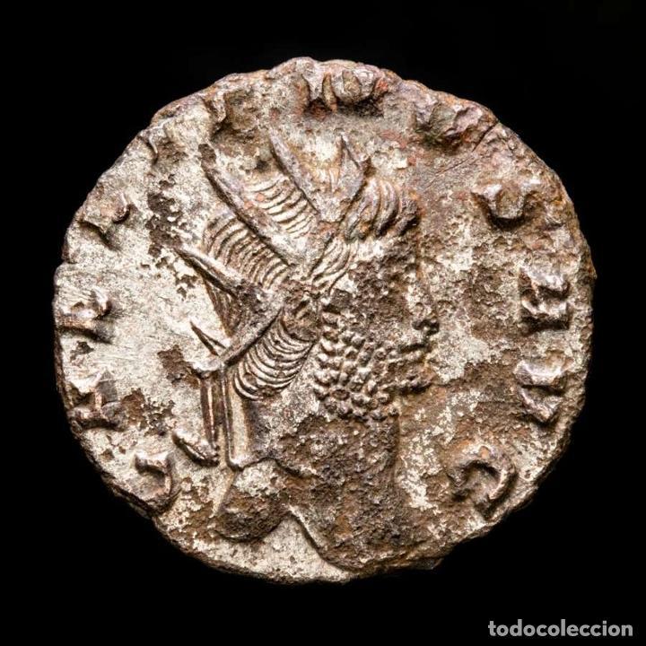 Monedas Imperio Romano: Lote de cuatro Galienos. AE Antoninianos. Varios reversos (143L) - Foto 7 - 254175450
