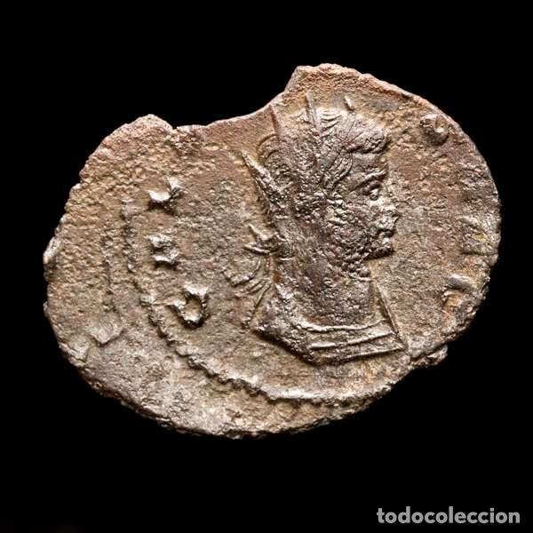 Monedas Imperio Romano: Lote de cuatro Galienos. AE Antoninianos. Varios reversos - Foto 3 - 254176505