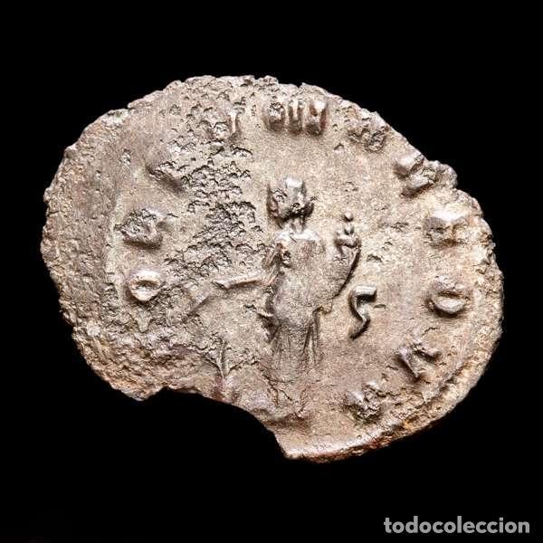 Monedas Imperio Romano: Lote de cuatro Galienos. AE Antoninianos. Varios reversos - Foto 4 - 254176505