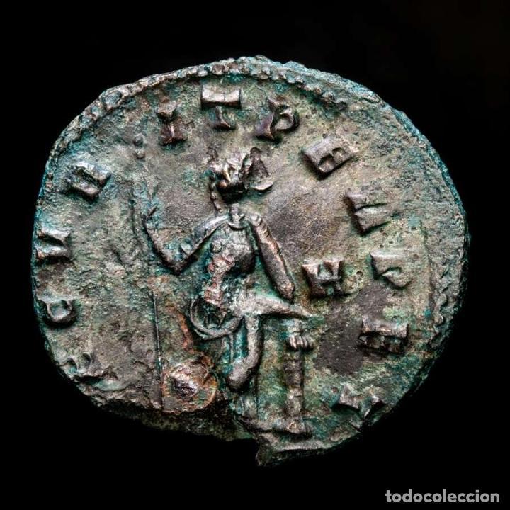 Monedas Imperio Romano: Lote de cuatro Galienos. AE Antoninianos. Varios reversos - Foto 6 - 254176505