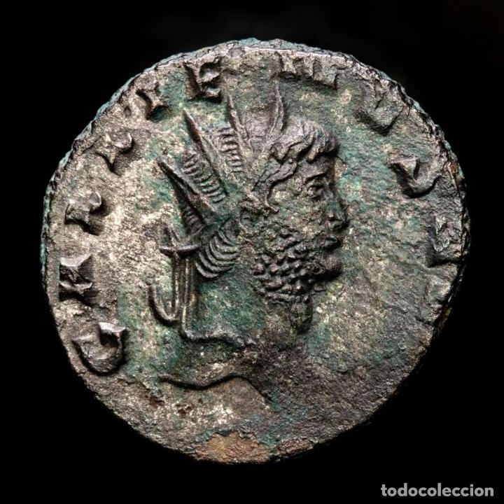Monedas Imperio Romano: Lote de cuatro Galienos. AE Antoninianos. Varios reversos - Foto 7 - 254176505
