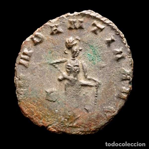 Monedas Imperio Romano: Lote de cuatro Galienos. AE Antoninianos. Varios reversos - Foto 3 - 254177405