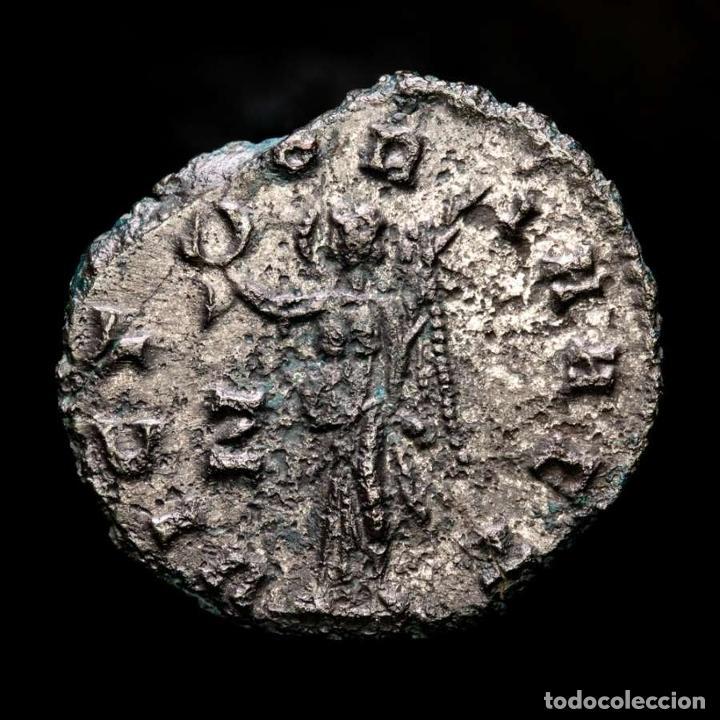 Monedas Imperio Romano: Lote de cuatro Galienos. AE Antoninianos. Varios reversos - Foto 6 - 254177405