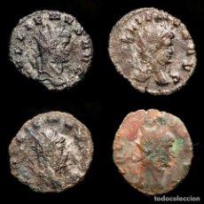 Monedas Imperio Romano: LOTE DE CUATRO GALIENOS. AE ANTONINIANOS. VARIOS REVERSOS. Lote 254177405
