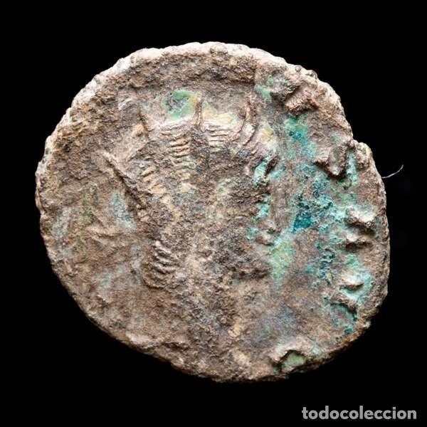 Monedas Imperio Romano: Lote de cuatro Galienos. AE Antoninianos. Varios reversos - Foto 3 - 254177855