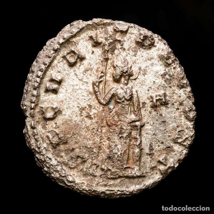 Monedas Imperio Romano: Lote de cuatro Galienos. AE Antoninianos. Varios reversos - Foto 6 - 254177855