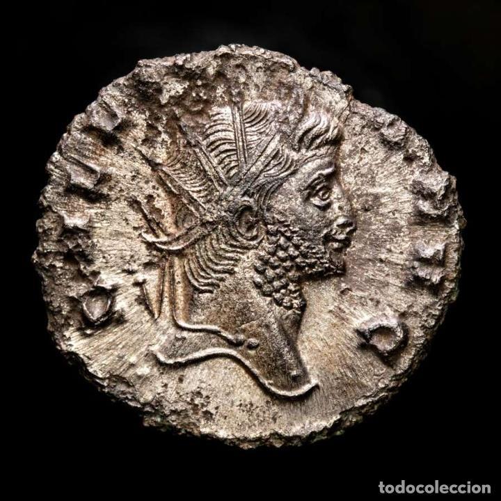 Monedas Imperio Romano: Lote de cuatro Galienos. AE Antoninianos. Varios reversos - Foto 9 - 254177855