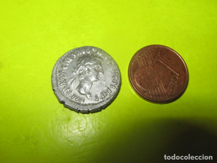 NERVA, 96-98. Õ-DENAR, 97, ROM; 3,45 G. KOPF R. MIT LORBEERKRANZ (Numismática - Periodo Antiguo - Roma Imperio)