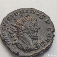 Monedas Imperio Romano: VICTORINUS Æ ANTONINIANUS. TREVERI, 269-270 D.C. IMP C VICTORINVS PF AVG, BUSTO IRRADIADO, DRAPEADO. Lote 254350485