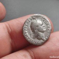 Monedas Imperio Romano: DENARIO DE VESPASIANO.. MINERVA ESTANTE A IZQUIERDA SOBRE PROA,. Lote 254363140