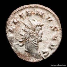 Monedas Imperio Romano: GALIENO 260-268 A.D. ANTONINIANO PLATEADO, MEDIOLANUM. AEQVITAS AVG. Lote 254915615