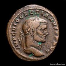 Monedas Imperio Romano: DIOCLECIANO - Æ FOLLIS DE ROMA. GENIO - R / Z. 296/7 DC. (6050). Lote 254948120