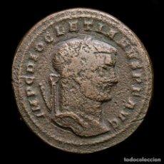 Monedas Imperio Romano: DIOCLECIANO - Æ FOLLIS DE ROMA. GENIO - R / B. 296/7 DC. (6051). Lote 254948235