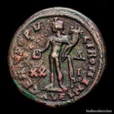 Monedas Imperio Romano: MAXIMINIANO - FOLLIS, ALEJANDRIA, GENIO POPVLI ROMANI XX-ΔI / ALE. Lote 254951655