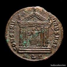 Monedas Imperio Romano: MAXIMIANO - FOLLIS DE AQUILEIA - TEMPLO CONSERV VRB SVAE / AQΓ. Lote 254952515