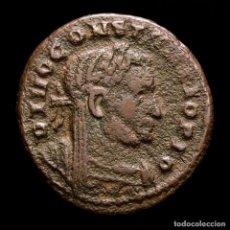 Monedas Imperio Romano: RARO DIVO CONSTANCIO I FOLLIS MEMORIA FELIX / PLN ALTAR Y AGUILAS.. Lote 254956475