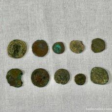 Monedas Imperio Romano: LOTE DE 10 MONEDAS ROMANAS POR IDENTIFICAR. Lote 255491345