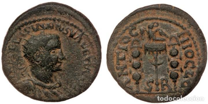 PISIDIA. ANTIOQUÍA. VOLUSIAN (251-253). AE. IMP C VIB AP CALVSSIAAO AV. BUSTO IRRADIADO, DRAPEADO Y (Numismática - Periodo Antiguo - Roma Imperio)
