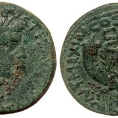 Monedas Imperio Romano: TIBERIO (14-37). DUPONDIUS. COMMAGENE. AE TI CAESAR DIVI AVGVSTI F AVGVSTVS. LAUREATE CABEZA A LA DE. Lote 256021745