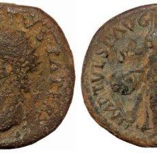 Monedas Imperio Romano: DIVUS AUGUSTUS AE29 DUPONDIUS. ROMA, 80-81 D.C. DIVVS AVGVSTVS PATER, IRRADIA LA CABEZA HACIA LA IZQ. Lote 256022240