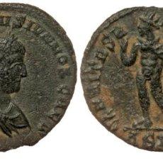 Monedas Imperio Romano: CONSTANTINO II, 337-340. SISCIA, FOLLIS, AE19 CONSTANTINVS IVN NOB CAES, LAUREADA, DRAPEADA, BUSTO C. Lote 256022430