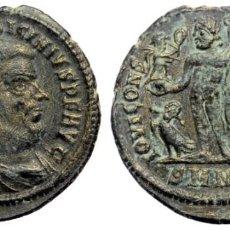 Monedas Imperio Romano: LICINIO I (308-324) AE19 FOLLIS, MENTA HERACLEA,. IMP C VAL LICINIVS LICINIVS PF AVG BUSTO DE LICINI. Lote 256022690