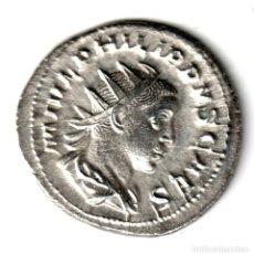 Monedas Imperio Romano: ANTONINIANO PLATA IMPERIO ROMANO FILIPO HIJO 244-246 REV. PINCIPI IVVENT. Lote 257707995