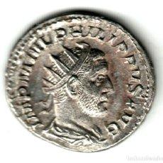 Monedas Imperio Romano: ANTONINIANO PLATA IMPERIO ROMANO FILIPO I EL ÁRABE 245-247 D.C. ROMAE AETERNAE. Lote 257763510