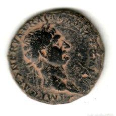 Monedas Imperio Romano: AS DE BRONCE IMPERIO ROMANO TRAJANO AÑO 100 D.C. - BONITA PIEZA. Lote 257771510