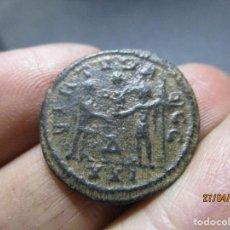 Monedas Imperio Romano: SILIQUA DE CARINUS, PARTE DE PLATEADO ORIGINAL, RARA. Lote 258830345