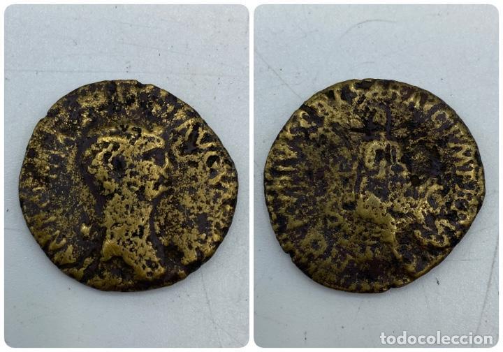 MONEDA. DUPONDIO DE ANTONIA. VER FOTOS (Numismática - Periodo Antiguo - Roma Imperio)