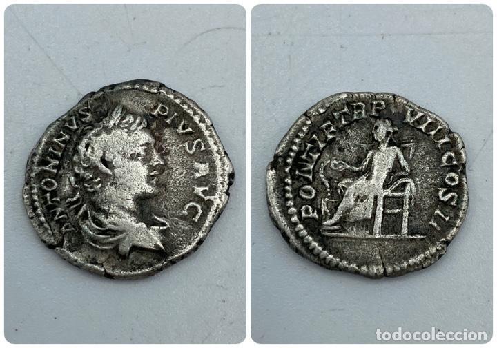 MONEDA. DENARIO ANTONINUS PIUS. VER FOTOS (Numismática - Periodo Antiguo - Roma Imperio)