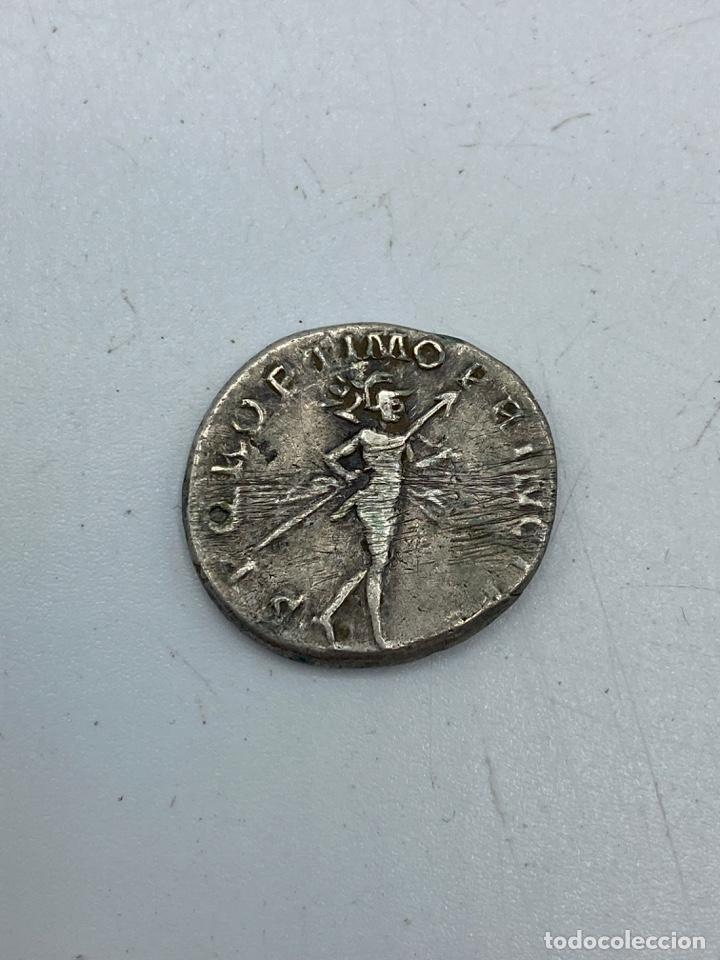 Monedas Imperio Romano: MONEDA. DENARIO DE TRAJANO. REVERSO: MARTE EN MARCHA. VER FOTOS - Foto 3 - 260024495