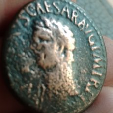 Monete Impero Romano: MONEDA ROMANA AS DE CLAUDIO BUSTO BIEN VISIBLE. AS DE GRAN TAMAÑO. Lote 260091835