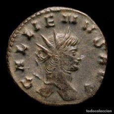 Moedas Império Romano: GALIENO 253-268 DC, ANTONINIANO. ROMA. IOVI CONS AVG S CABRA (335). Lote 259242290