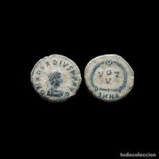Moedas Império Romano: ARCADIO 383-408 NUMMUS. HERACLEA, 378-383. VOT V // SMHΔ. 19-M. Lote 261136105