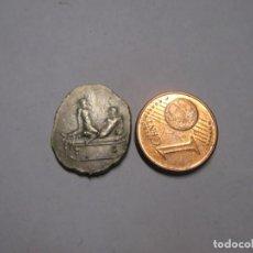 Monedas Imperio Romano: MONEDA ROMANA -ZETON- PARA ENTRADA GRATUITA A UNA FICHA DE BURDEL. Lote 261681080