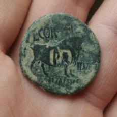 Monedas Imperio Romano: AS DE AUGUSTO DE CELSA CON RESELLO EN REVERSO.. Lote 262147965