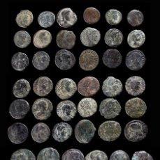 Monedas Imperio Romano: LOTE DE 52 MONEDAS ROMANAS. Lote 262306095