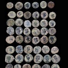 Monedas Imperio Romano: LOTE DE 64 MONEDAS ROMANAS. Lote 262307000