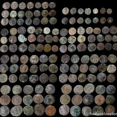 Monedas Imperio Romano: LOTE DE 140 MONEDAS ROMANAS. Lote 262307390